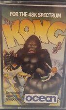 Kong Spectrum 48k (TAPE) (Game, imballaggio, Manual)