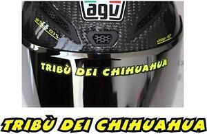p114 TRIBU DEI CHIHUAHUA VALENTINO ROSSI Logo Pegatina Sticker Vinilo Adhesivo