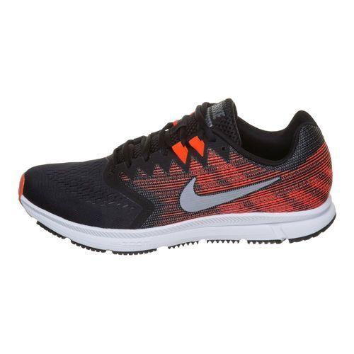Nike zoom über 2 männer laufen schwarz metallic - grau - orange.