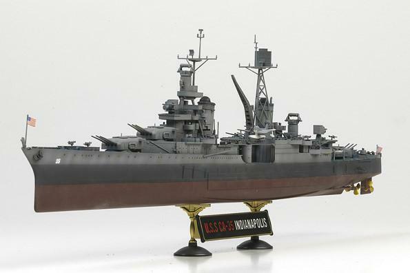 Personalizzato modellololo US.Navy CA-35 Indianapolis 1 350 (preordinata- Assemb verniciato)