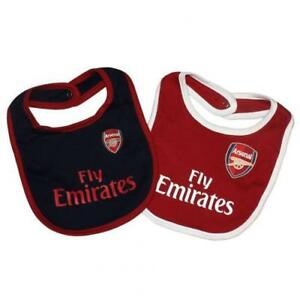 67ad1fc3b Arsenal FC - Baby Bibs 2 pack - SPECIAL SALE PRICE - LIMITED TIME