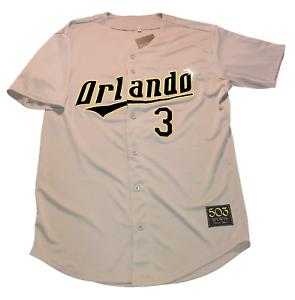 a9f03ea2 Image is loading Orlando-Sun-Rays-Customized-Baseball-Jersey-Tampa-Bay