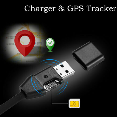 Car Chargers GPS Tracker Micro USB Cable Real Time GSM//GPRS Tracking sdd