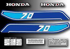 ATC 70 1982 Tank Decals Kit Stickers Set for Honda Trike