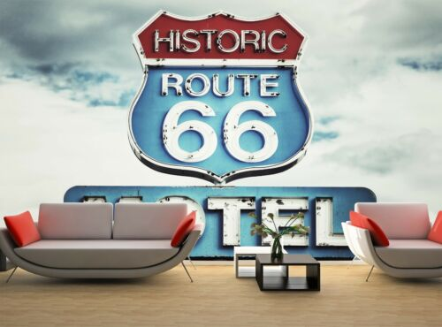 Route 66 USA   Photo Wallpaper Wall Mural DECOR Paper Poster Free Paste