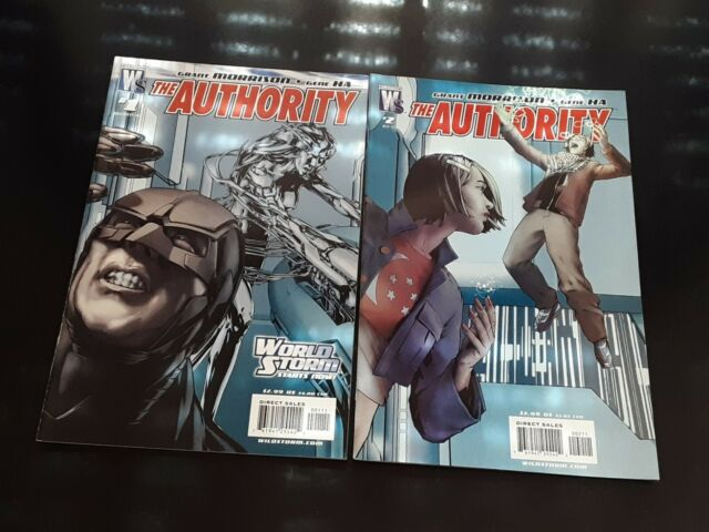 World Storm #1-2 VF-NM 2 Comics
