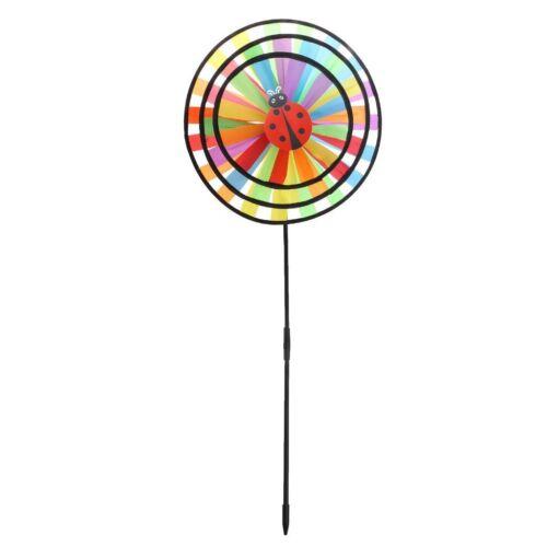 3 pcs DIY Windmühle Magic Wheel Windrad Windräder Haus Garten Hof