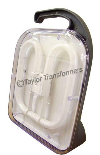 38W 2D 240V Fluorescent Portable Work //Task Light LOW ENERGY NON GLARE OUTPUT