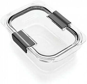 Rubbermaid Brilliance Food Storage Container Medium 3.2 Cup Clear 2Pack | eBay
