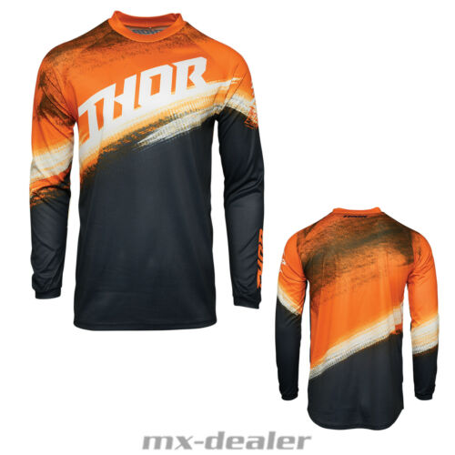 2021 Thor Sector Vapor Cross Jersey Trikot Orange Motocross Enduro MX DH MTB BMX