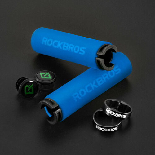 ROCKBROS Bicycle Handlebar Grips MTB Handlebar Bicycle Grips Road Bike Silicone