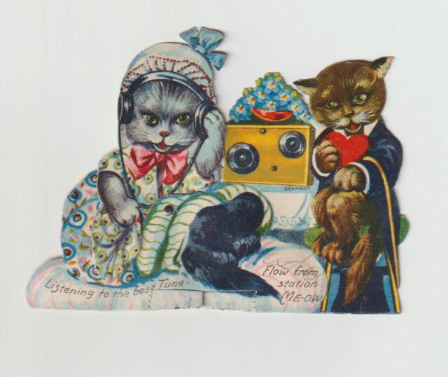 Vintage Valentine, Station Meow, Mechanical
