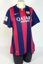 Nike FCB Barcelona Red & Blue Short Sleeve Football Soccer Jersey Womens XL NWT
