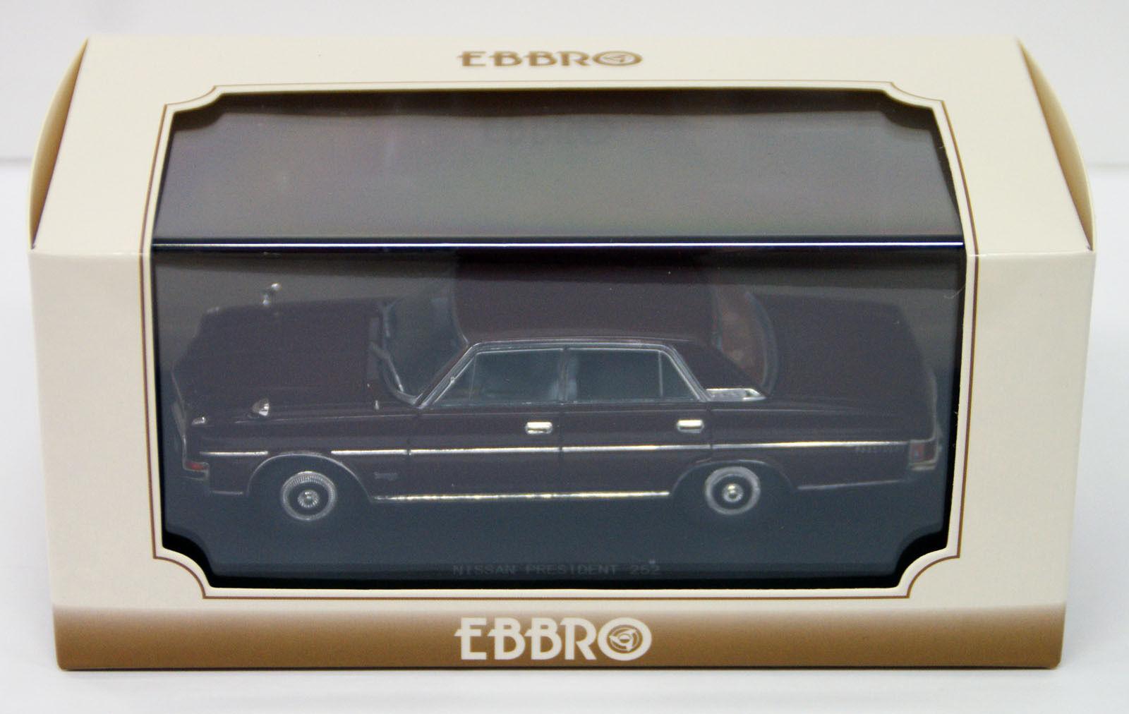 ahorra hasta un 80% Ebbro 45321 Nissan Nissan Nissan President 252 marrón 1 43 scale  ventas en línea de venta