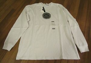 Nike-Stussy-SS-Link-Long-Sleeve-L-S-Tee-T-Shirt-Size-Large-White-Brand-New-NWT
