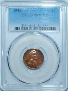 1941-PCGS-PR64RD-Red-Proof-Strike-Lincoln-Wheat-Cent-Penny