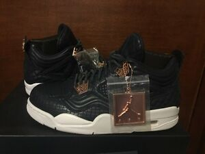 3ffffb2ff80538 DS Air Jordan 4 IV Retro Premium Obsidian Pinnacle SZ 8 882801428258 ...