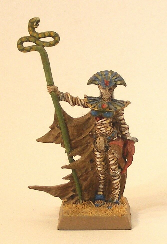 Games Workshop GW Warhammer Tomb Kings Queen Khalida Professionally Painted