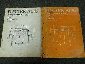 1986 renault alliance gta electrical wiring diagram rh ebay com  alliance tenna rotor wiring diagram