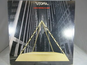 Utopia-Oops-Wrong-Planet-BR-6970-Vinyl-Lp-1978-Bearsville-Records-VG-cover-VG