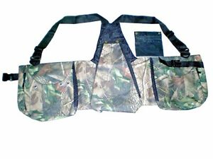 Falconry-Camo-Vest-Hawking-Hunting-Jungle-Wild-Vest-034-S-034-amp-034-M-034-Sizes