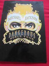 MICHAEL JACKSON DANGEROUS WORLD TOUR - PROGRAMME