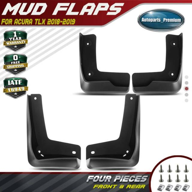 4x Rock Splash Guards Mud Flaps Molded Stoneguards For