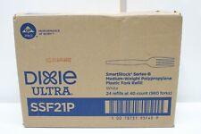 Dixie Ssf21p Smartstock Fork Refill Med Wt Polypropylene White Pack Of 960