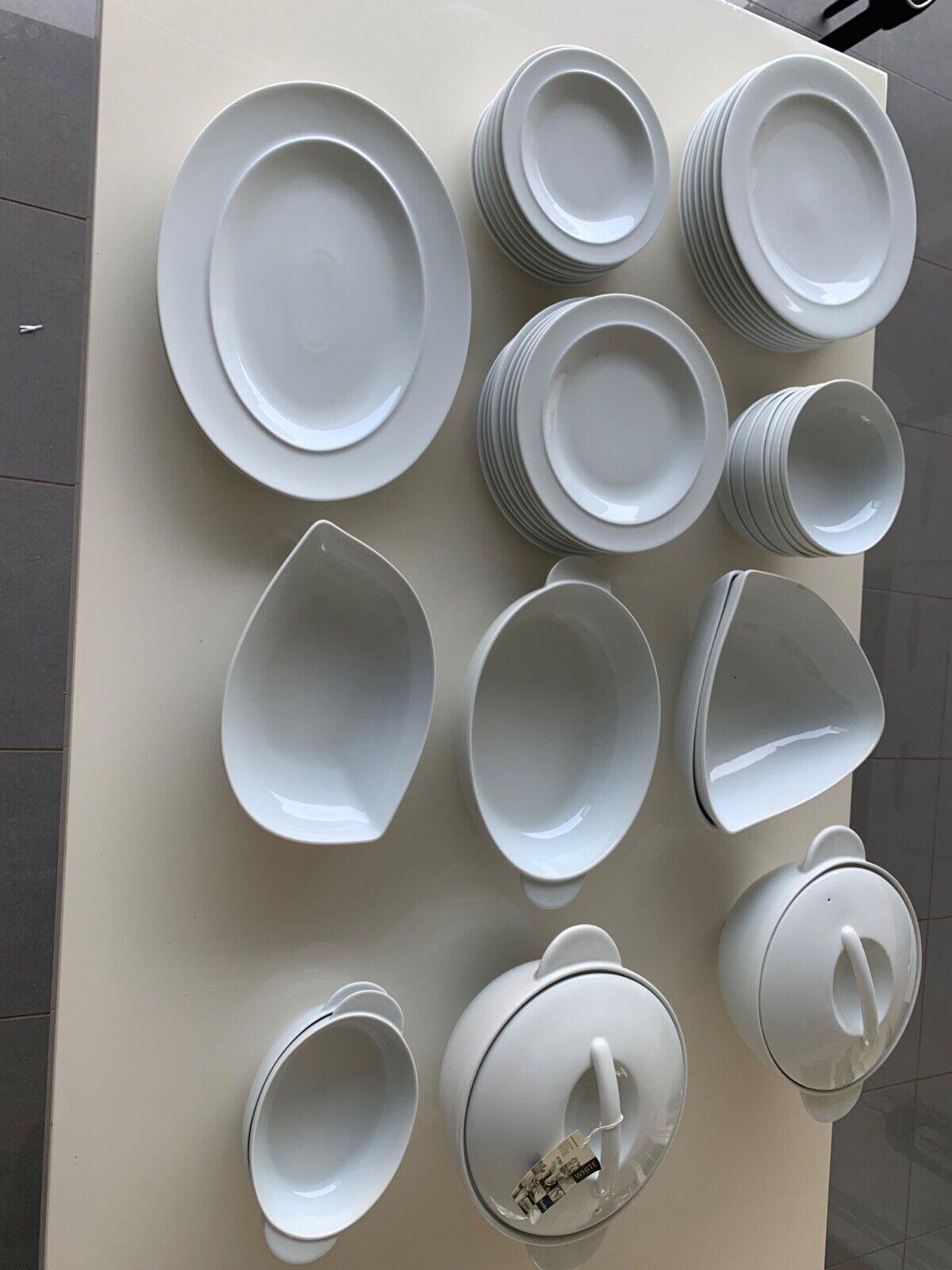 Denby Comedor Placas 8 con platos