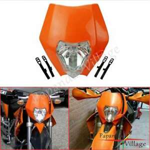 Motorcycle Headlight Dirt Bike Head Lamp For KTM XR WR CR RMZ DRZ KLX 250 New
