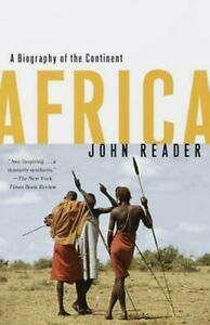 Africa-A-Biography-of-the-Continent-by-John-Reader-FREE-Postage
