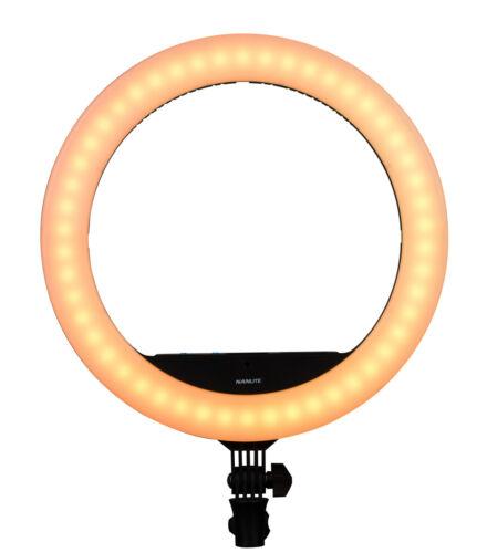 anillo Light lámpara de vídeo Nanlite halo 16c LED lámpara anillo Beauty Portrait