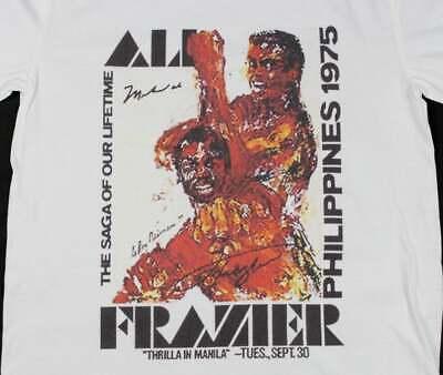 The Thrilla In Manila T shirt; Muhammad Ali vs Joe Frazier T shirt