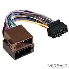 Adapter Kabel für Sony Auto Radio DIN ISO Stecker 16 Pin Kabelbaum KFZ