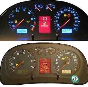 VW-Passat-3B-3BG-Golf-4-Bora-Pixelfehler-FIS-defekt-Tacho-Reparatur