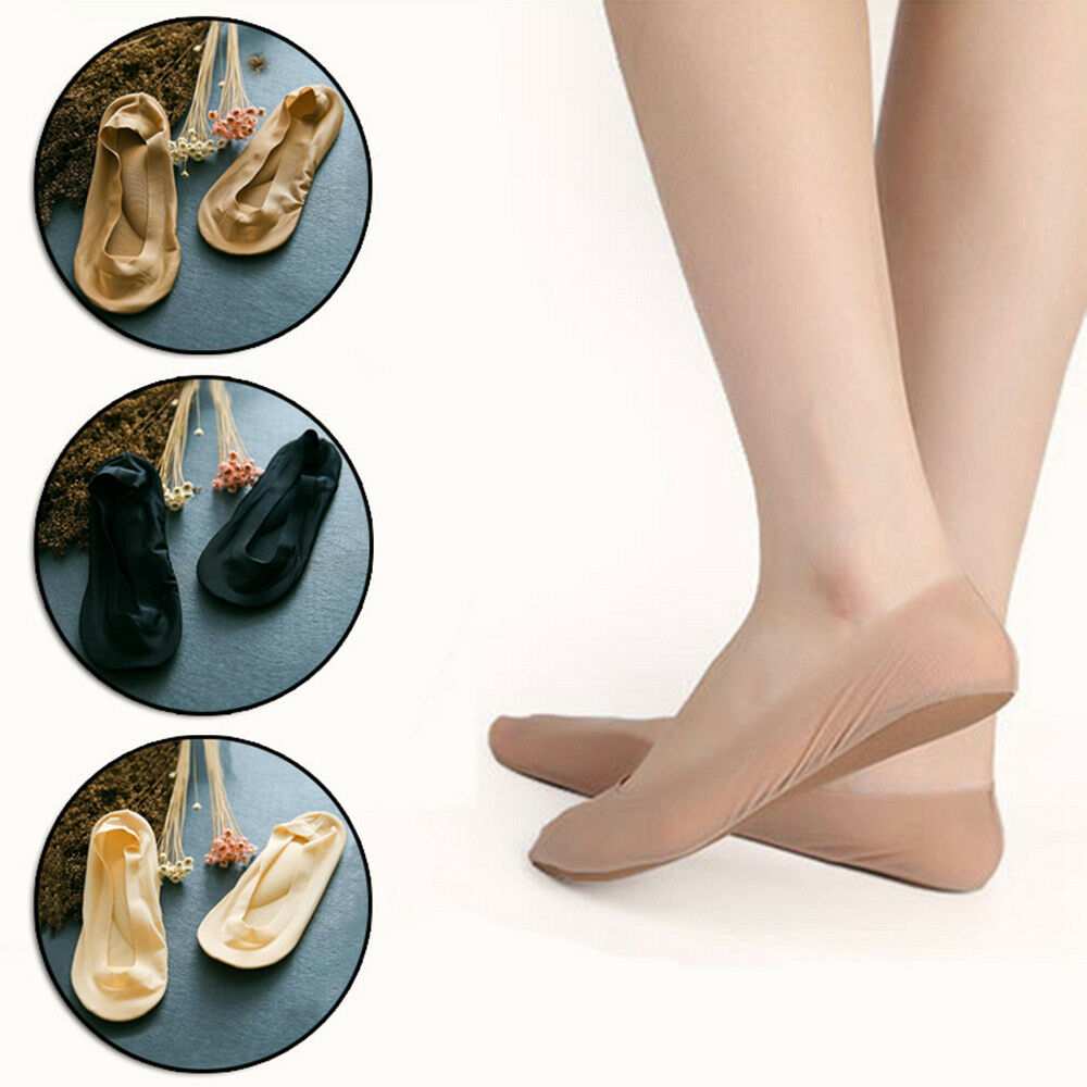 Women Arch Support Padded Cushion NO SHOW Liner Socks Low Cut GYM Yoga US