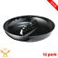 12-Pack-Tablecraft-Black-Plastic-Safety-Round-Restaurant-Bar-Ashtrays-Sturdy-New thumbnail 1