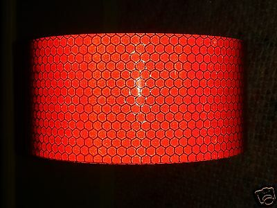 2m X 50mm Orafol High Intensity Reflective Tape Red Self Adhesive Vinyl Hi Viz Curing Cough And Facilitating Expectoration And Relieving Hoarseness Business & Industrial