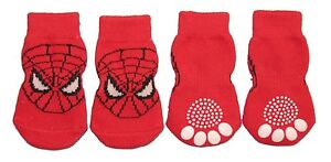 Non-Slip-Dog-Socks-Spider-Man-Small-Medium-Large-amp-XL-3-5kg-to-30kg