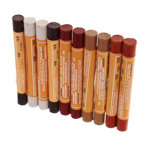 10 Pack Möbel Marker Buntstifte Reparatur Holz Ausbesserung Kratzspachtel