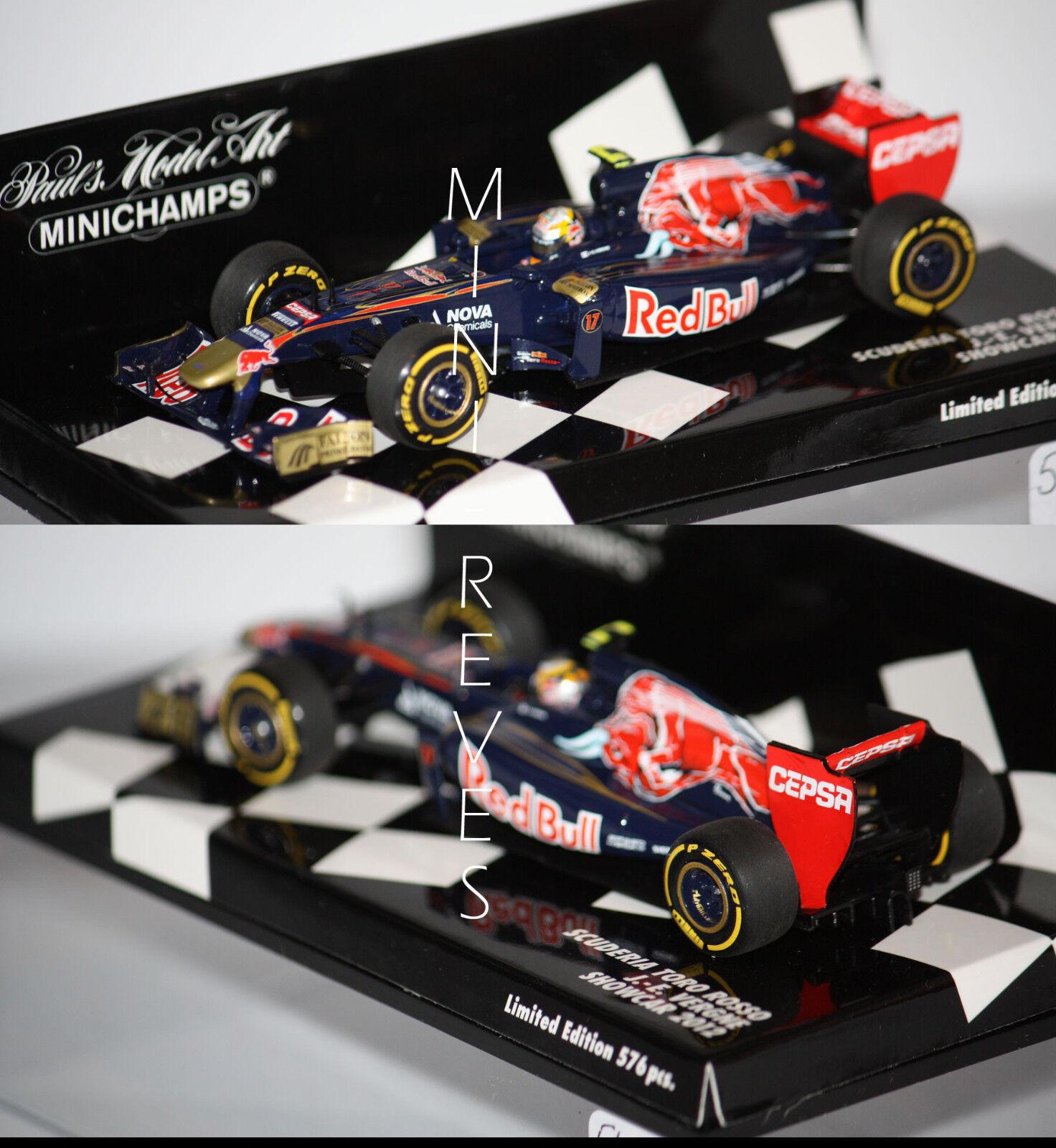 Minichamps F1 Scuderia Torro rouge Showcar 2012 J.E. Vergne 1 43 410120087