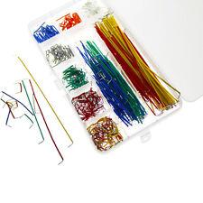 140pcs U Shape Breadboard Jumper Colored Cable Wire Kit Solderless Box Shield