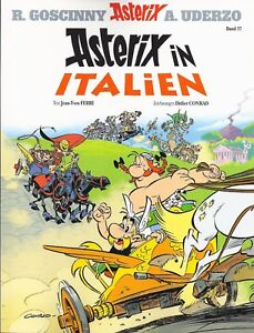 Comics-Asterix-amp-Obelix-Sammlung-Band-37-Asterix-in-Italien-ungelesen-1A