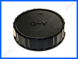 Camera Body and Rear Lens caps,Compatible with for Contax Yashica CY C//Y Lens