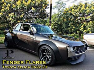 Jdm Fender Flares Wheel Arch Sheet Metal For Toyota Celica Ta22 Ta23
