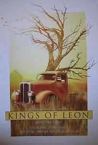 Kings-of-Leon-Chistchurch-NZ-2009-Concert-Poster-Art-Joe-Whyte
