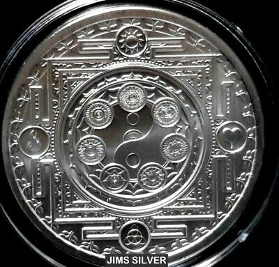 1oz Silver Shield Proof Cosmic Archetype Silver Round #21 Conscientia Series