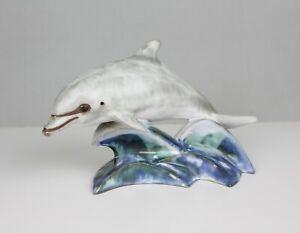 Andersen-Design-Studio-Ceramic-Dolphin-Figurine-Statue-Mid-Century-Pottery