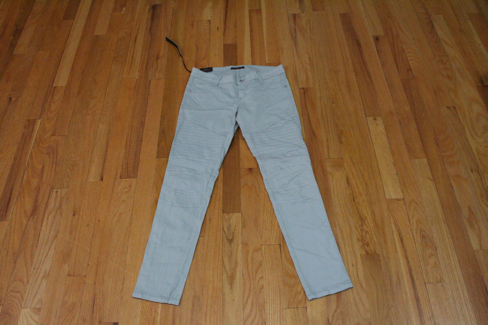 JAMES JEANS MOTO MOTORCYCLE LEGGING SEA CRYSTAL SIZE 30 NEW