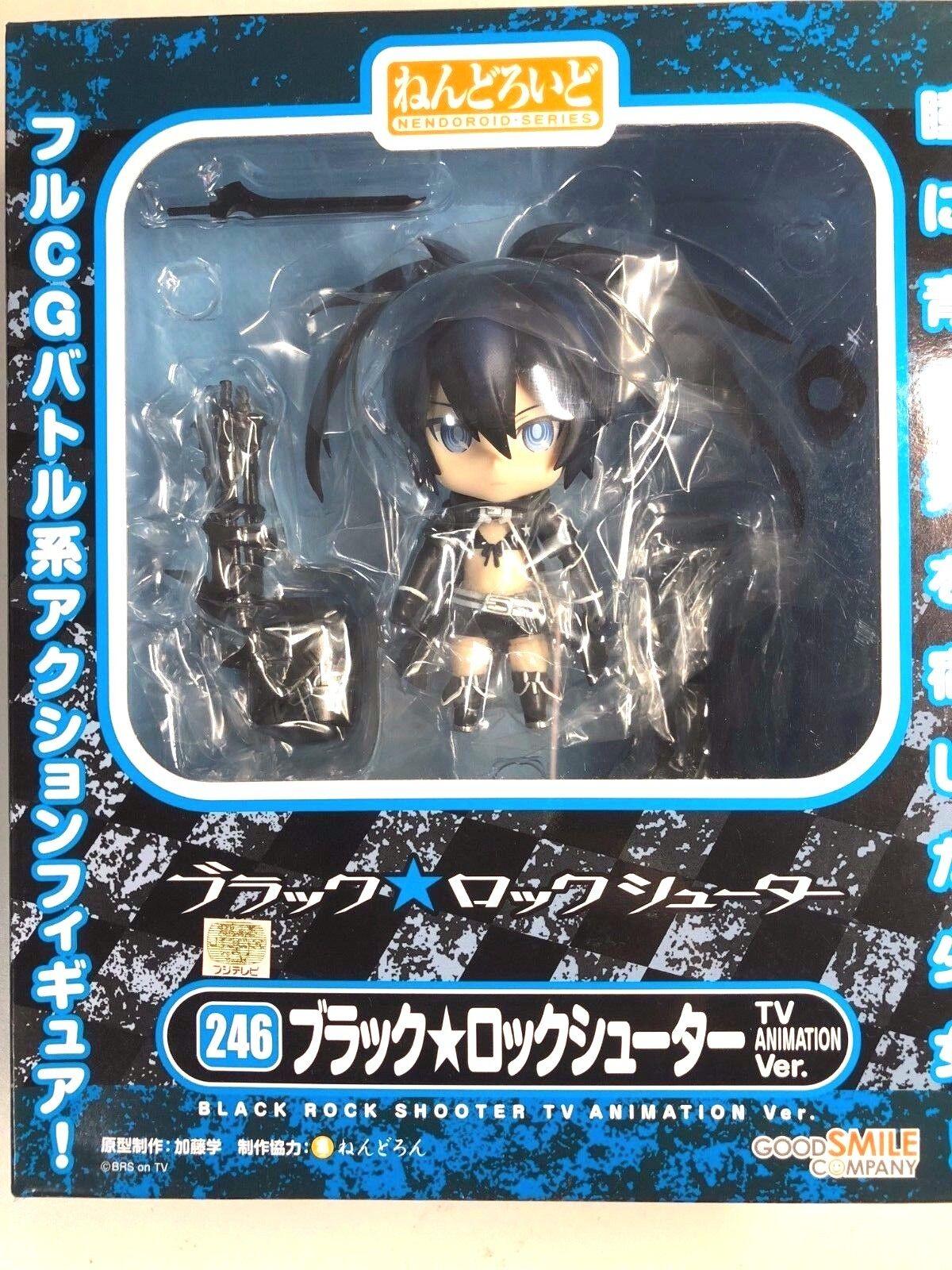 Nendoroid Black Rock Shooter TV ANIMATION Version ABS/&PVC Painted action Figure